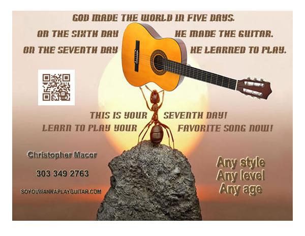 GuitarFlyerAnt